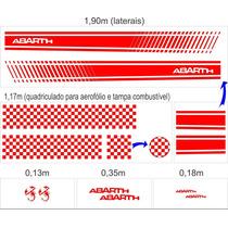 Kit Adesivo Abarth - Somente Faixas Laterais