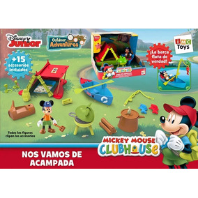 Campamento De Aventuras Club House Mickey Mouse