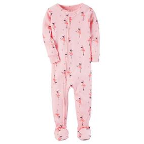 Pijama Malha Algodão 2 - 5 Anos Macacão Carters Menina