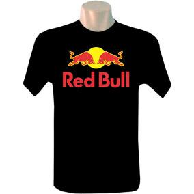 Camiseta Masculina Red Bul Jack Daniels