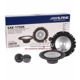 Bocinas Set De Medios Alpine Sxe-1750s 6.5 2 Vías 280 Watts