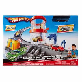 Pista Hot Wheels Super Lava-rápido Com Veículo- Mattel T3543