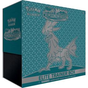 Caja Pokemon Tcg Sun&moon Crismon Invasion Elite Trainer Box