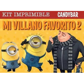 Kit Imprimible Minions Mi Villano Favorito + Promo 2x1