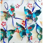 30 Souvenir Origami Mariposas Colgantes