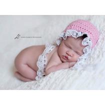 Gorrinho Vintage Newborn
