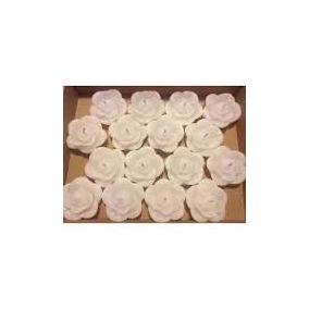 Velas Flutuantes Rosa Branca 60 Unidades Mega Promoção