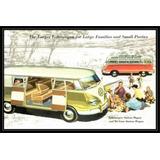 Volkswagen Combi 1958 Pasajeros - Poster Lámina 45x30 Cm.