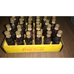 Mini Garrafinhas Coca Cola Anos 50 - Promoção!