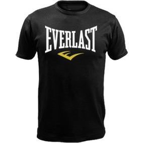 Remeras Estampa Everlast Boxing Boxeo Entrenamiento Algodon