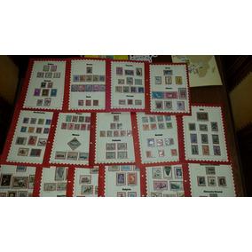 Lote De 15 Fascículos Coleção Selos De Todo O Mundo - Europa