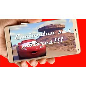 Cars Vídeo Tarjeta Invitación Cumpleaños Whatsapp Digital M