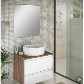 Espelho Para Banheiro Com Bisotê 65cm X 50 Cm C/ Botões !