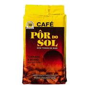 Café Pôr Do Sol Torrado E Moído Vácuo 500gr