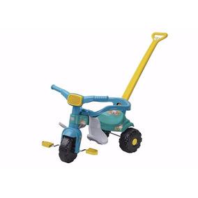 Triciclo Motoca Com Aro Protetor Turma Da Mônica Magic Toys