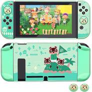 Carcasa Nintendo Switch - Animal Crossing