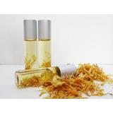 Envase Frasco Vidrio Italiano + Perfume Con Roll-on, (x10)