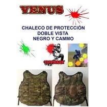 Chaleco Proteccion Doble Vista Ajustable Marcadora Xtreme