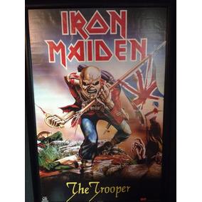 Cuadro De Coleccion Iron Maiden The Trooper Ny Usa