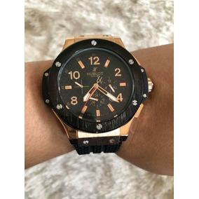 67098f62e97 Relógio Hublot Dourado - Relógio Hublot no Mercado Livre Brasil