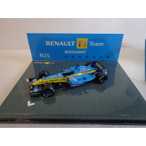 Renault R25 Fernando Alonso Campeon F1 2005 1/43 Minichamps