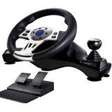 Volante Cambios Y Pedales Para Sony Ps2 Ps3 Pc