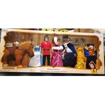 Muñecos Disney Estuche Delujo La Bella Y La Bestia Gaston