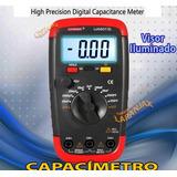 Capacímetro Digital Ua6013l Visor Led - Mede Todo Capacitor