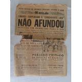 Feb Jornal Meio Dia N°938 26 Maio 1942 6 Páginas