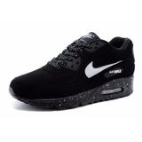 Zapatillas Hombre Mujer Nike Air Max 90 Tallas Negro Black
