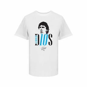 Playera Napoli Maradona - Playeras en Mercado Libre México a26aafc62c27a
