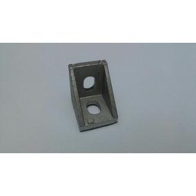 Escuadras De Aluminio Para Perfil Extruido 20 X 20