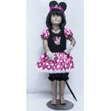 Disfraz Ratona Minnie Mouse Nuevos Para Niñas
