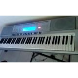 Piano O Teclado Casio Wk 210 Con Estuche Y Base