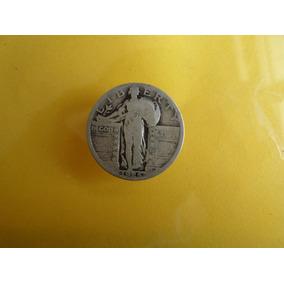 Moneda Antigua 25 Centavos Dolar 1925 Envio Gratis