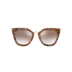 Oculos Prada Butterfly Marrom Lentes - Óculos no Mercado Livre Brasil c45aaf2d4b