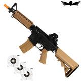 Rifle De Airsoft Elétrico Cybergun Colt M4a1 Cqbr Dual Color