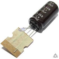 10 Capacitor Eletrolitico 2200uf X 25v Sam Young 105ºc