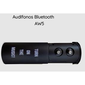 Audífonos Auriculares Internos Aw5 Aiwa Bluetooth 4.0 Negro