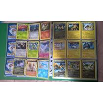 Mega Lote Pokemon Xy - 50 Cartas Raras Com Uma Brilhante