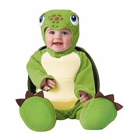 Disfraz Bebe Tortuga Traje Tortuguita Niño Niña Halloween