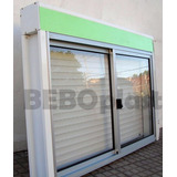 Ventanas Aluminio C/cortina Monoblock 1.00 X 1.00 Oferta!