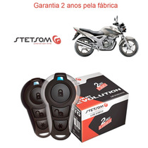 Alarme Presença Honda Cbx Twister 2008 Stetsom Moto Triplo