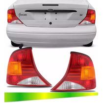 Par Lanterna Traseira Focus Sedan 99 A 2002 2003 2004 2005