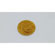 Moneda De Oro De 20 Francos De 1909 Peso 6.45 Gr