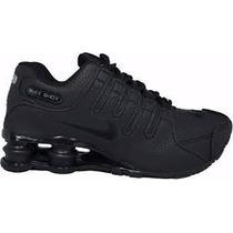 Tênis Nike Shox Junior 4 Molas Academia Caminhada Promoção