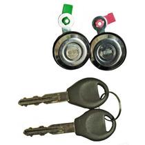 Cilindro Chapa Puerta Nissan Pu D22 08-15 Juego De 2 T154