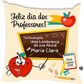 Almofada Feliz Dias Dos Professores
