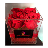 Cajas Acrilicas Para Rosas