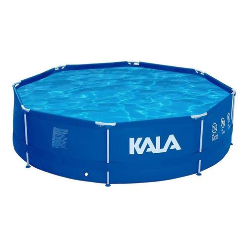 Piscina estrutural redonda Kala 196436 com capacidade de 5200 litros de 300cm de diâmetro